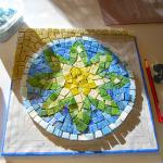 Sunlight on Sun Mandala